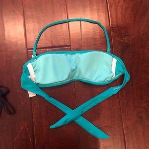 Forever 21 Swim - Navy ruffle bikini